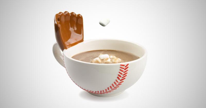 Baseball Mug With A Glove