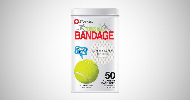 Novelty Tennis Ball Bandages