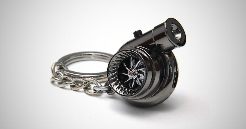 Electric Electronic Turbo Keychain