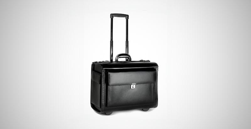 Leather Pilot Luggage