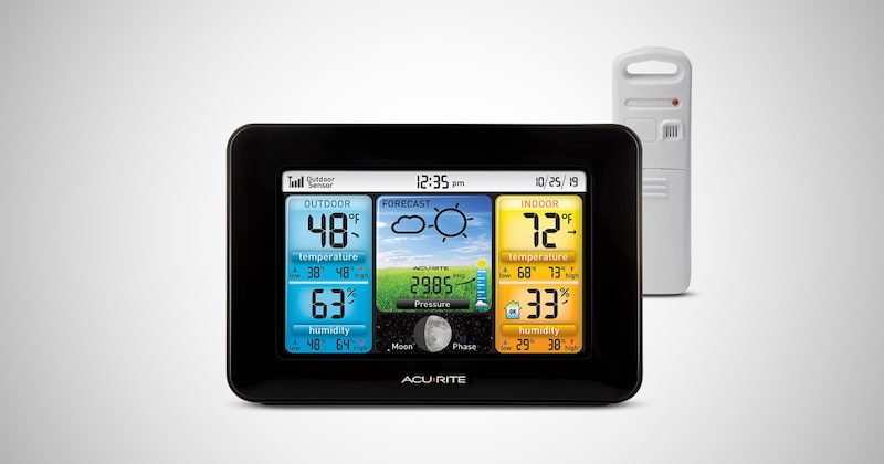 AcuRite Color Weather Station Forecaster