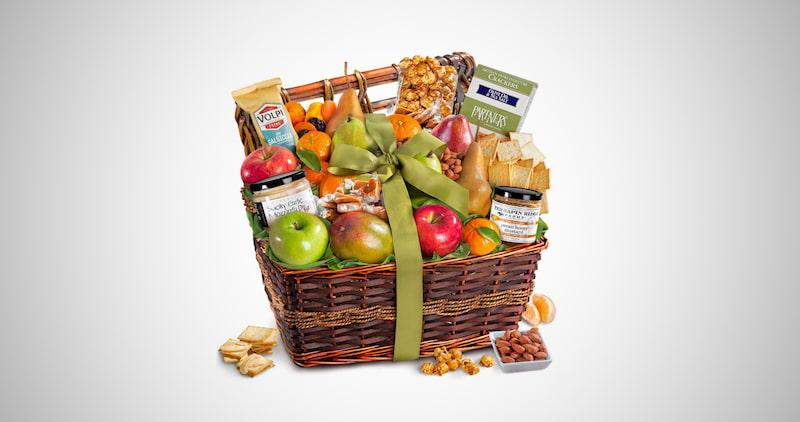 Gourmet Abundance Fruit Basket