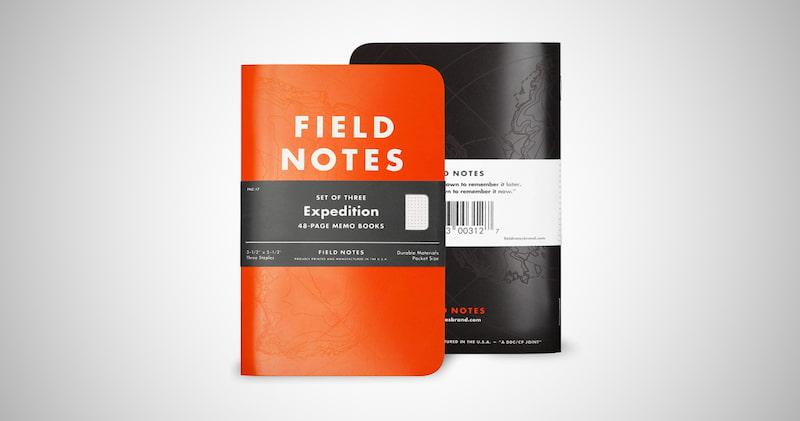 Field Notes Waterproof Notebook