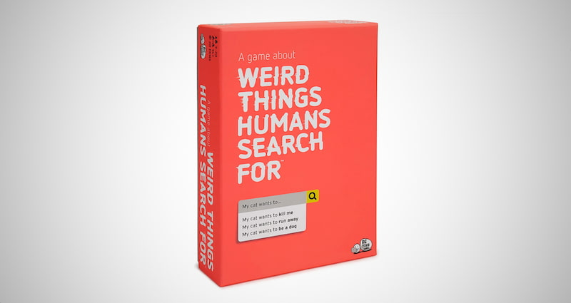 Weird Things Humans Search