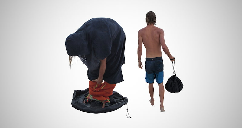Durable Wetsuit Changing Dry-Bag