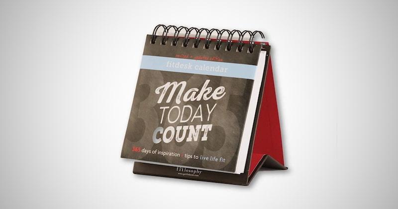 Make Today Count Inspirational Calendar