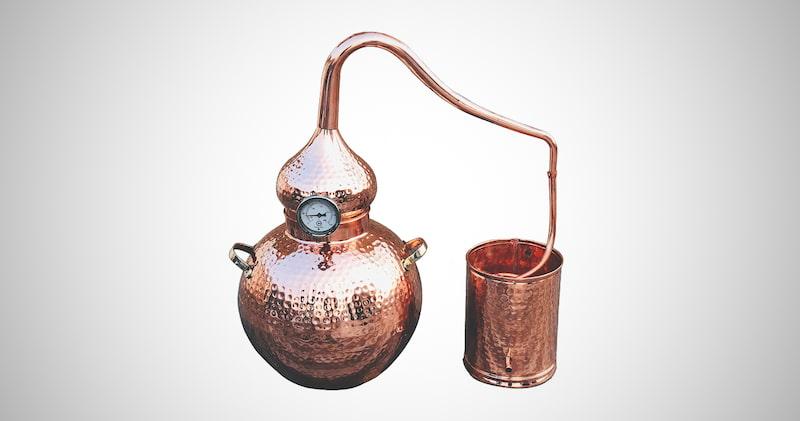 Pure Copper Alembic Still
