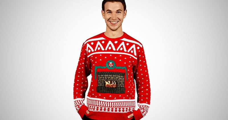 Morph Digital Ugly Christmas Sweater