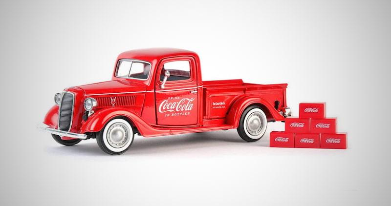 Coca-Cola Ford Pickup Truck