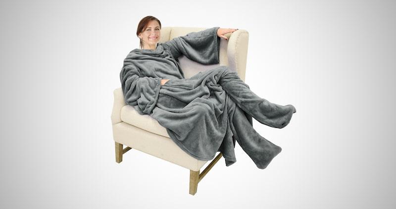 Catalonia Wearable Fleece Blanket