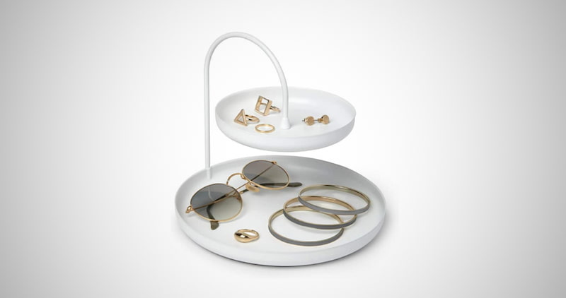 Umbra Two-Tiered Jewelry Tray