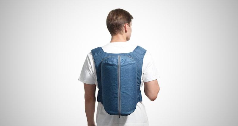 WoodyKnows Side-Sleeping Backpack