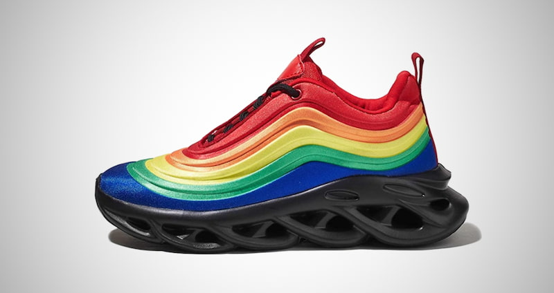 Tie Dye Rainbow Sneakers