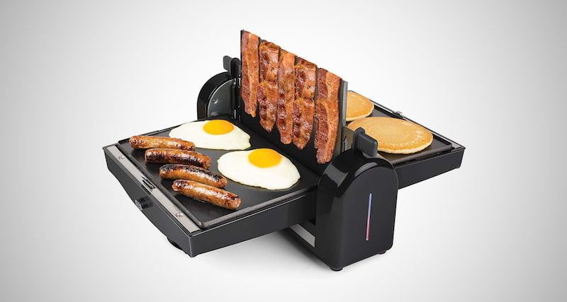 Nonstick Electric Bacon Press & Griddle