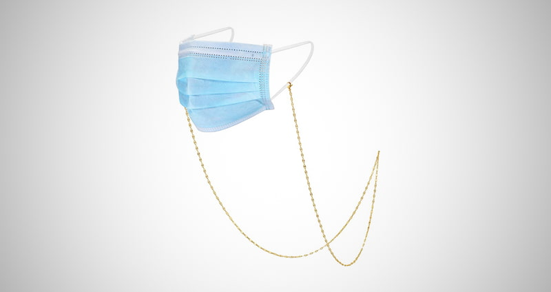 OSIANA Face Mask Chain Necklace