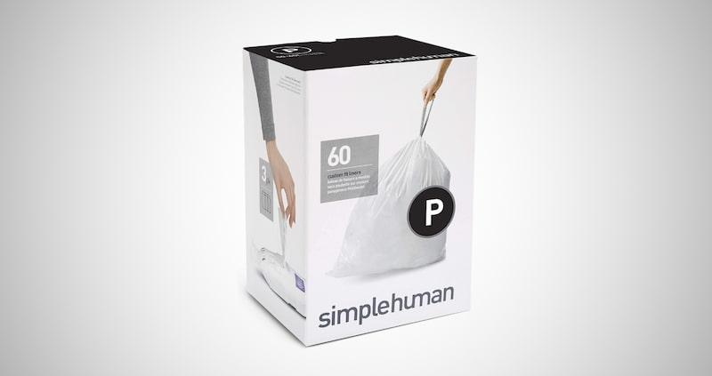 simplehuman Drawstring Trash Bags