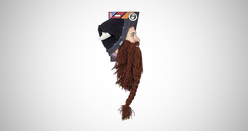 Original Handmade Knit Helmet & Beard