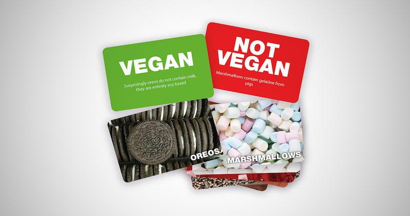 Vegan Not Vegan Game
