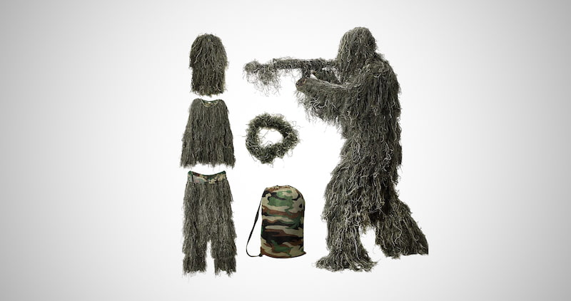 5 in 1 Ghillie Suit