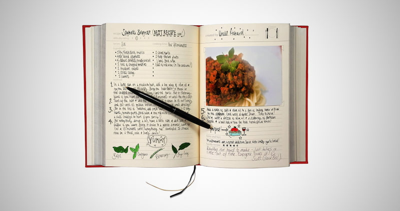 My Family Recipe Book