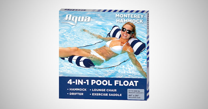 Aqua 4-in-1 Monterey Pool Hammock