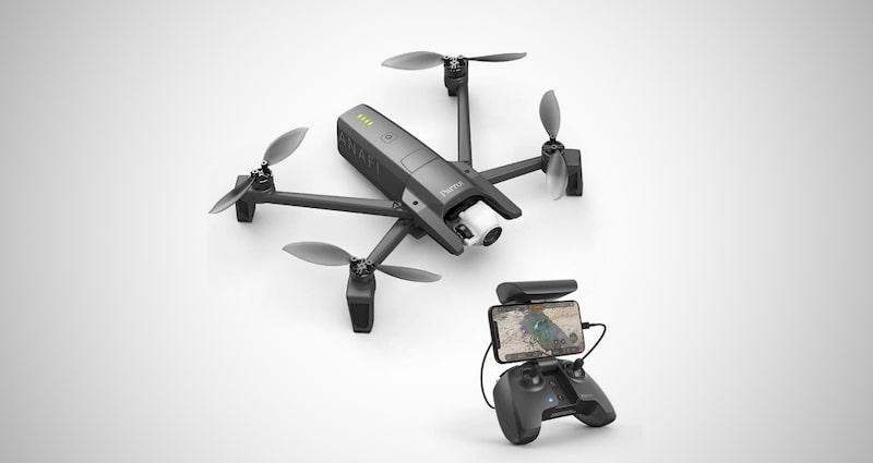 Parrot Foldable Quadcopter Drone