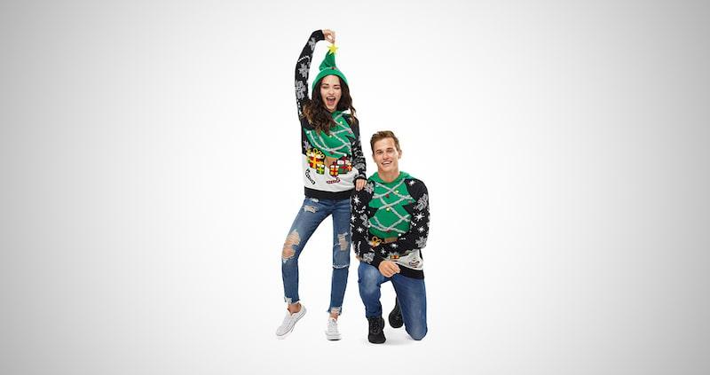 Ugly Christmas Hoodie Sweater