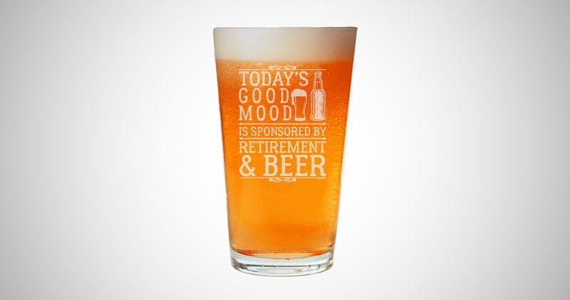 Retirement Beer Pint