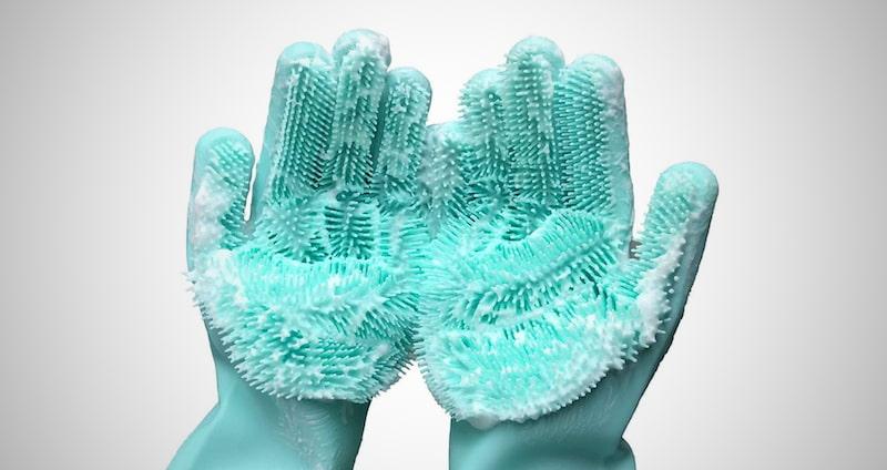 Cleaning Sponge Gloves