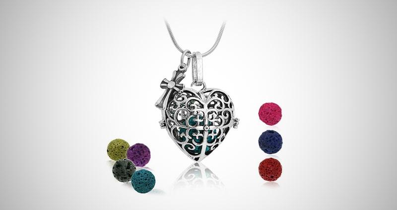 Maromalife Diffuser Pendant Necklace