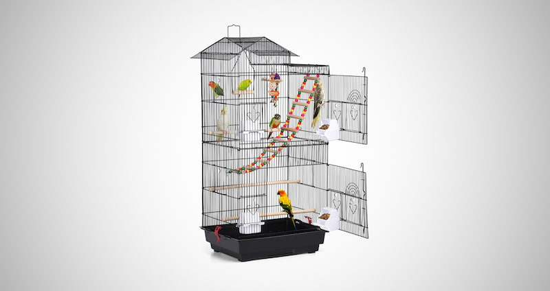Large Flight Parrot Bird Cage