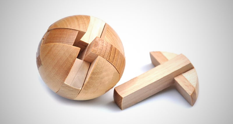 Wooden Puzzle Magic Ball