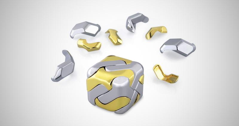 Metal Puzzle Cube