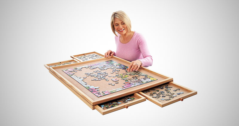 Deluxe Jigsaw Puzzle Workspace