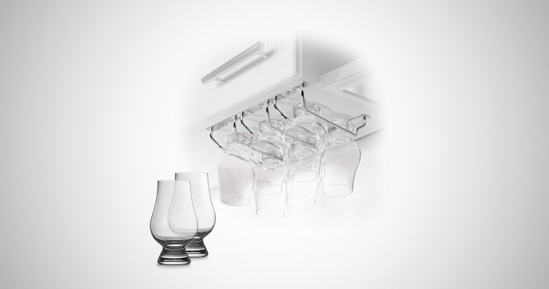 CairnCradle Whiskey Glass Rack