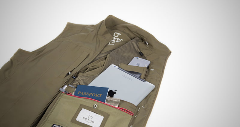 SCOTTeVEST With 26 Concealed Pockets