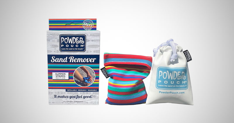 Powder Pouch Sand Remover