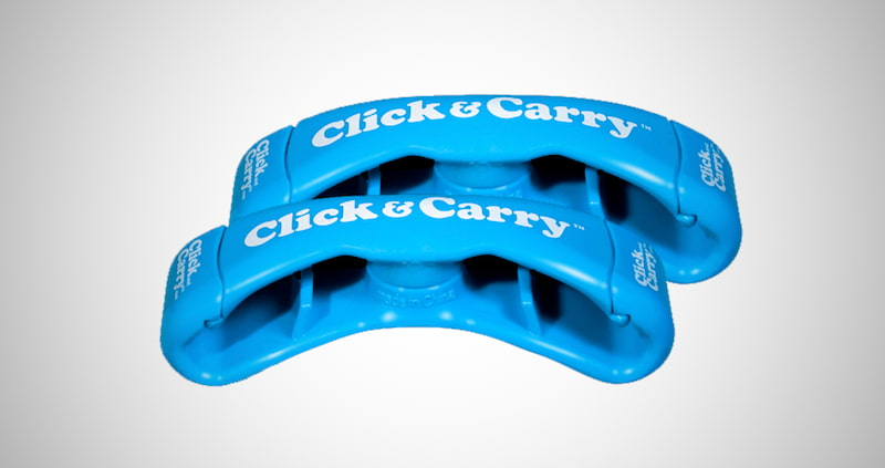 Click & Carry Grocery Bag Carrier