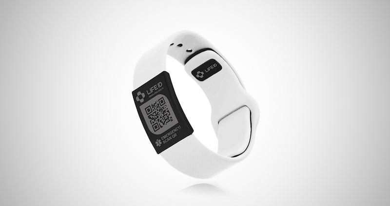 LIFEID Pin-Tuck Medical ID Bracelet