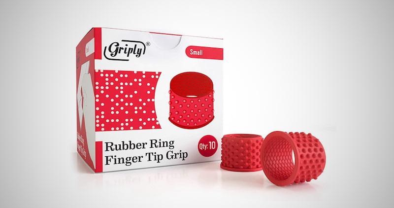 Rubber Tip Finger Protector