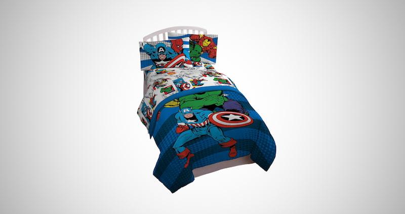 Avengers Comics Full Bed Set