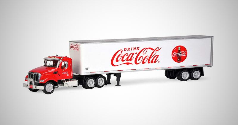 Coca-Cola Tractor and Trailer