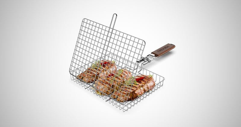 Portable Grill Basket