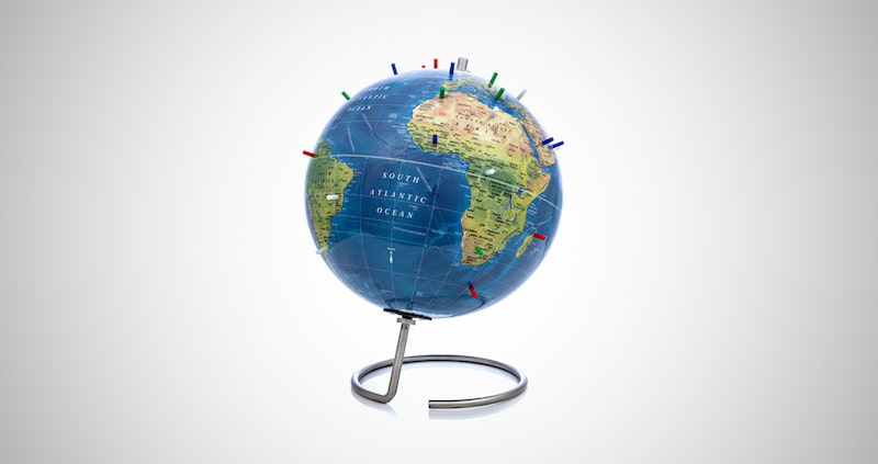 Magnetic World Globe