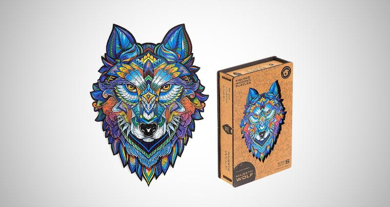 Unidragon Wooden Puzzle Jigsaw