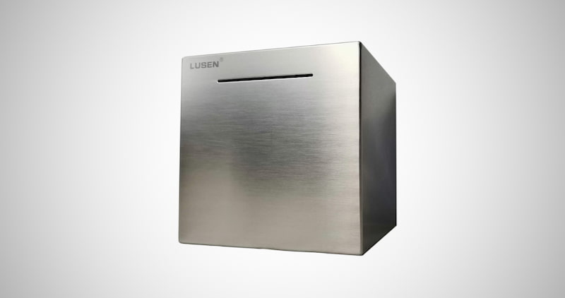 Stainless Steel Money Bank