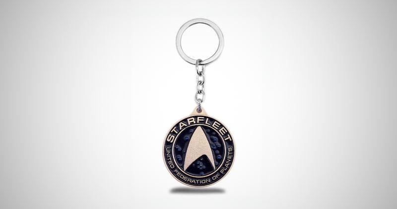 Star Trek Alloy Keychain
