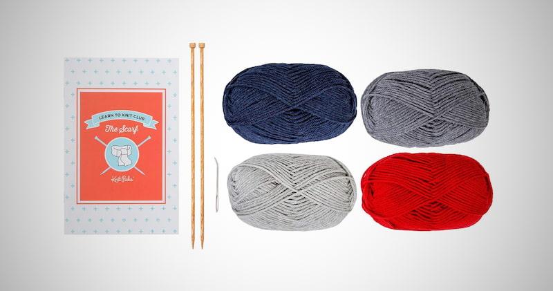 Learn to Knit Beginner Kit