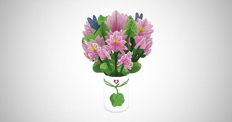 Lovepop Lotus Bouquet