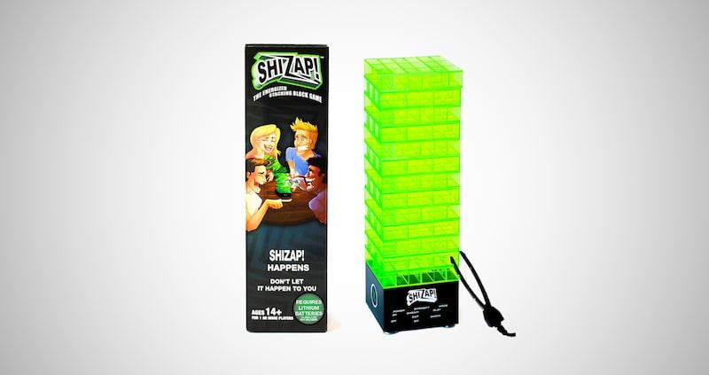ShiZap! Energized Stacking Block Game